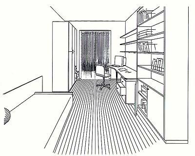 Piani degli appartamenti for Disegni casa 4 camere da letto